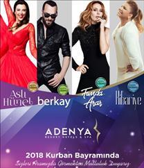 Adenya Resort Hotels & Spa Kurban Bayramı Programı