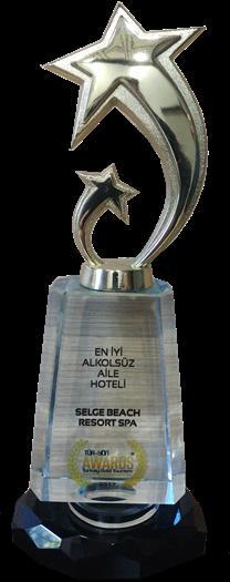 2017 En İyi Alkolsüz Aile Hotel'i Ödülü