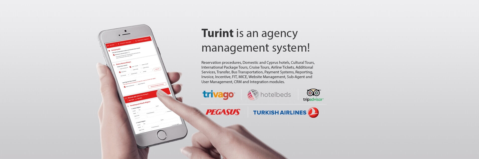 Turint is an agency management system
